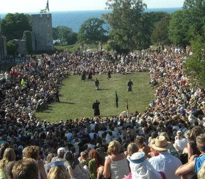 fotboll på Gotland