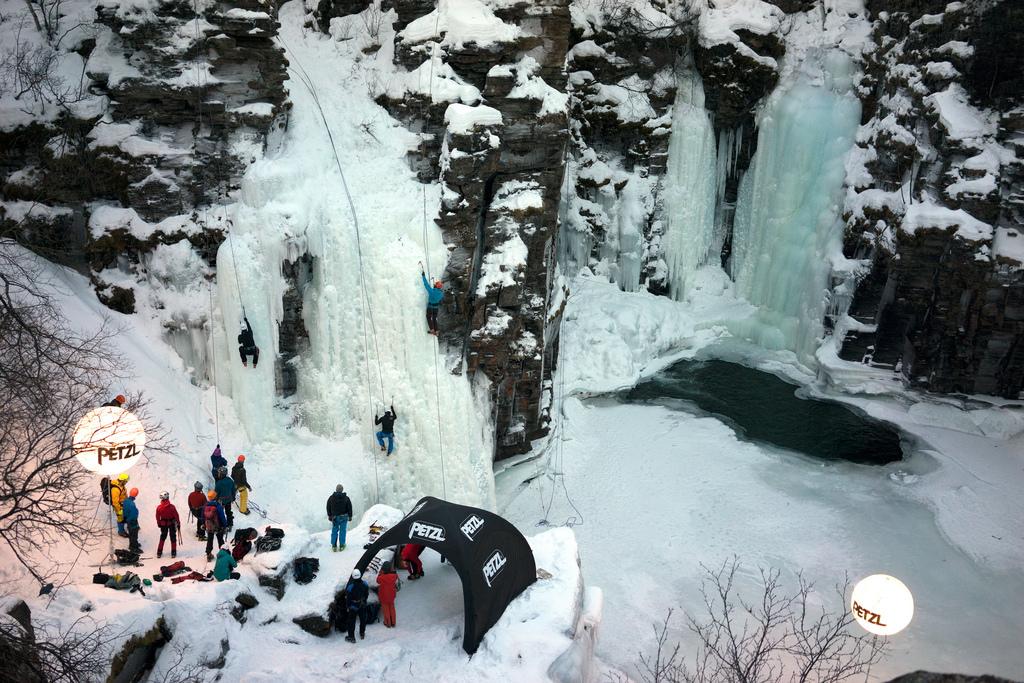 Abisko Ice Climbing Festival