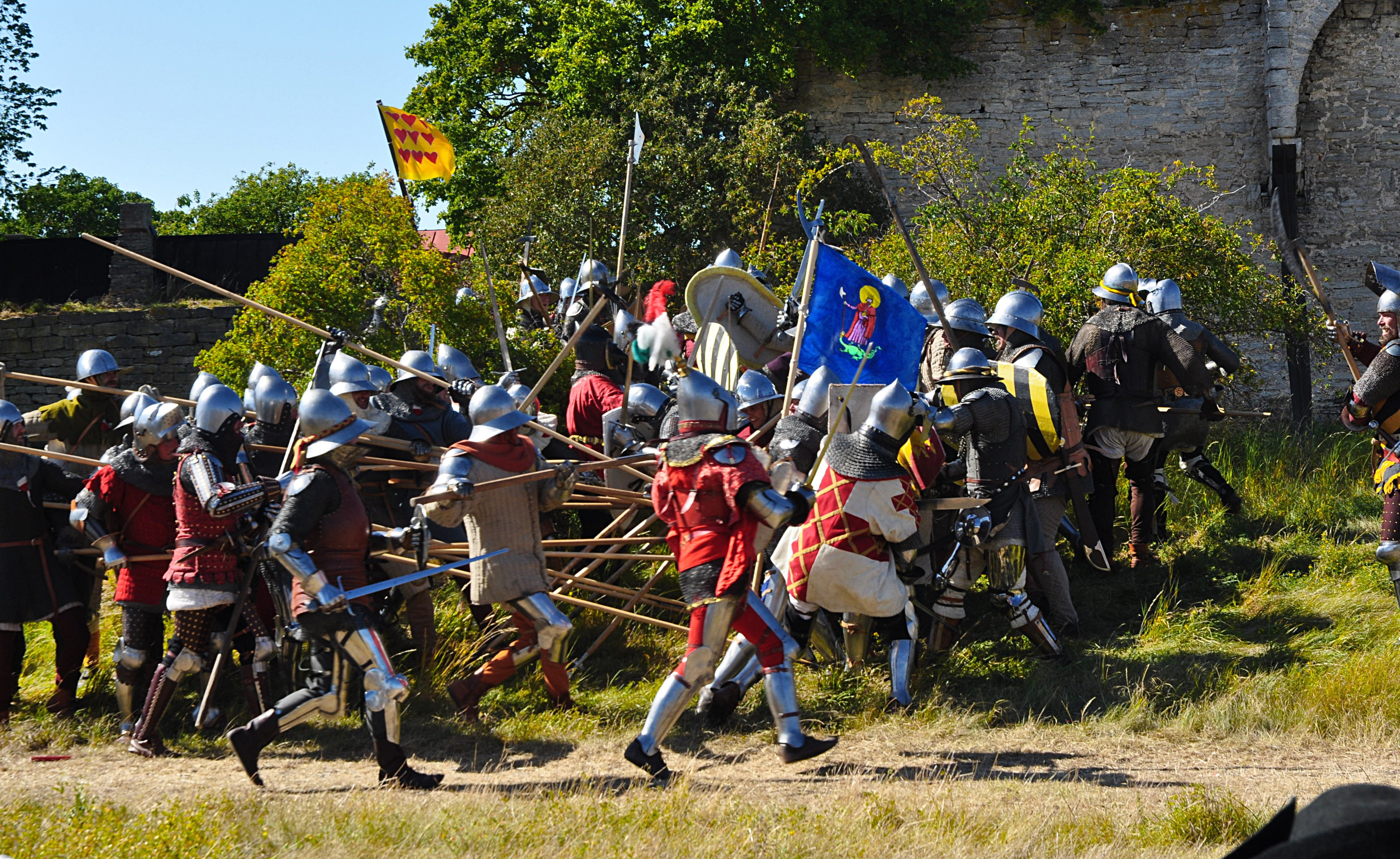 Olika medeltidsdagar och events runt om i Sverige